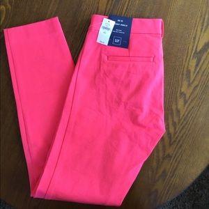 New GAP Coral pink skinny pants 2
